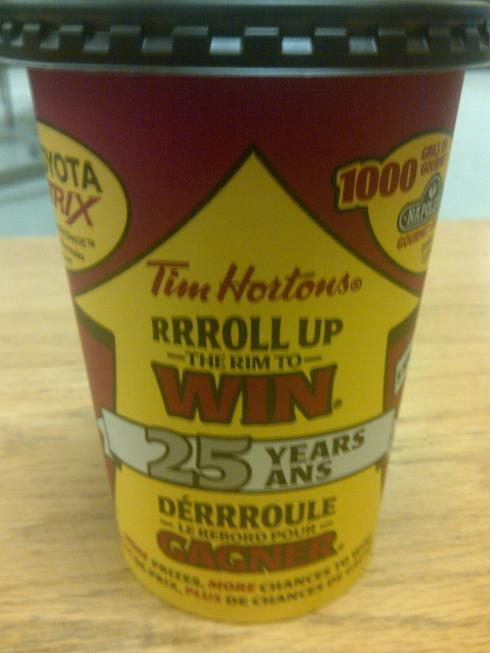 Roll Up the Rim!