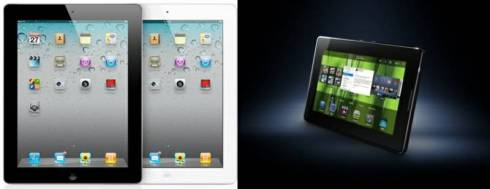 Apple iPad2 & BlackBerry PlayBook