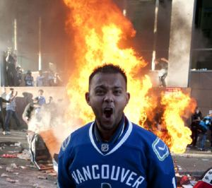 Face of the Vancouver Riots